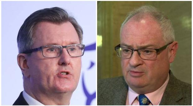 DUP MP Sir Jeffrey Donaldson has asked UUP leader-in-waiting Steve Aiken to reconsider.