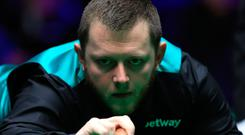 On cue: Mark Allen, currently going for glory in the World Open in China, is among favourites for Northern Ireland Open title at the Waterfront Hall