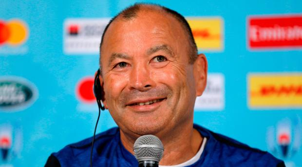 England's head coach Eddie Jones