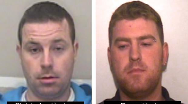 Christopher and Ronan Hughes (Essex Police/PA)