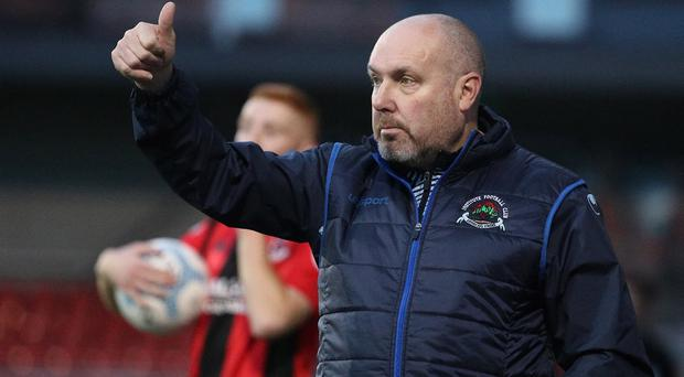Institute manager Sean Connor bagged a valuable point at Seaview.