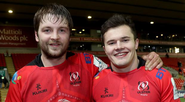 Iain Henderson and Jacob Stockdale are expected to play a part in next weekend's PRO14 game at Thomond Park.