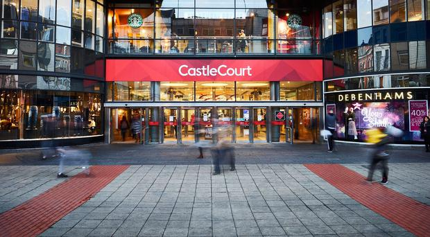 CastleCourt in Belfast city centre which houses Debenhams