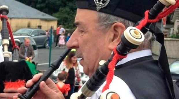 The late Billy Campbell was a long-time member of Sion Mills Pipe Band