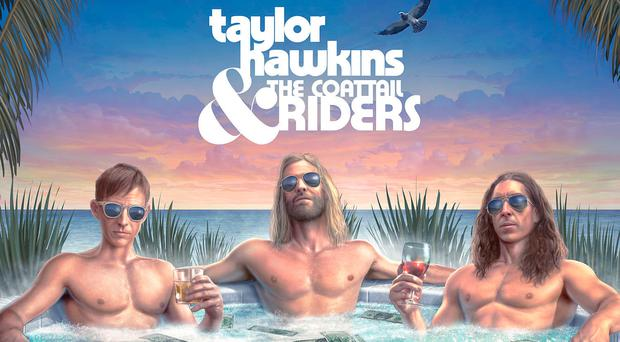Taylor Hawkins and The Coattail Riders' new album