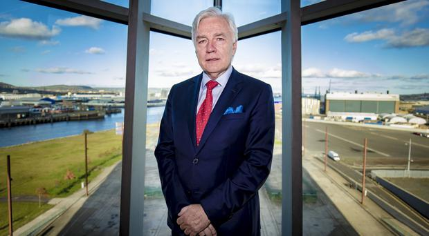 Dr Len O'Hagan during the All-Island Congenital Heart Disease Network Conference 2019 on November 8th 2019 (Photo by Kevin Scott for Belfast Telegraph) during the All-Island Congenital Heart Disease Network Conference 2019 on November 8th 2019 (Photo by Kevin Scott for Belfast Telegraph)