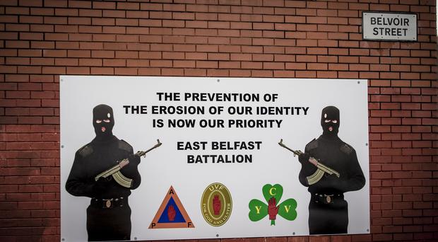 An east Belfast Battalion mural on the wall in Belvior Street, east Belfast on November 10th 2019 (Photo by Kevin Scott for Belfast Telegraph)