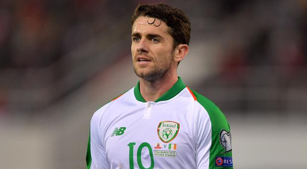Republic of Ireland midfielder Robbie Brady is back in the squad after injury (Simon Galloway/PA)