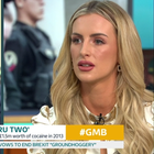 Michaella McCollum appeared on Good Morning Britain to plug her new book. Pic GMB