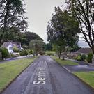 The attack happened in the Sentry Hill area of Ballymena. Credit: Google
