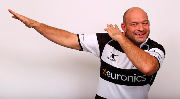 Rory Best at the Barbarians' media day in London (Steve Bardens/Getty Images)