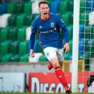 Linfield have announced the return of Kyle McClean (INPHO/Matt Mackey)