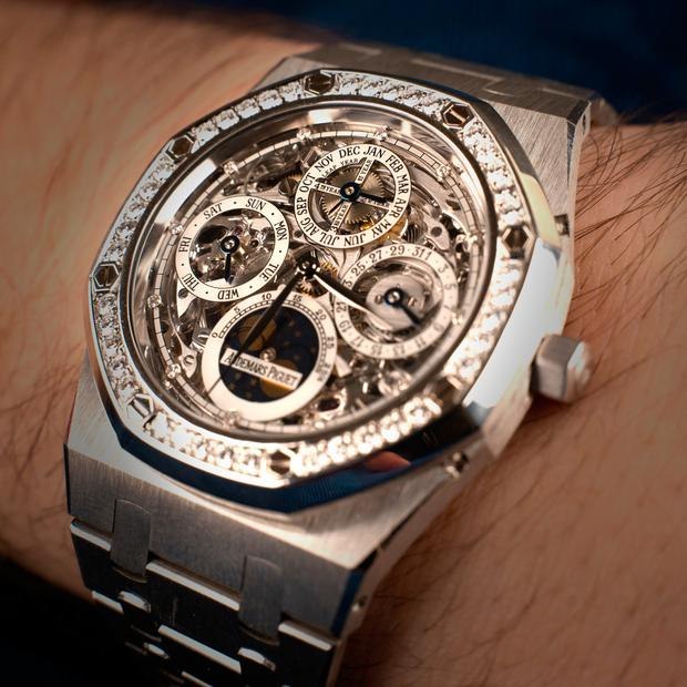 Dutch-born Nico van der Horst, who own Pride and Pinion, said sourcing the Audemars Piguet watch watch was a coup for the Belfast boutique, which prides itself on its collection of rare vintage timepieces.