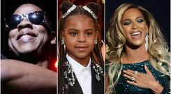 Jay-Z. Blue Ivy and Beyonce (Yui Mok/PA/Chris Pizzello/AP/Yui Mok/PA)