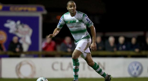 New Linfield signing Ethan Boyle in action for Shamrock Rovers (INPHO/Bryan Keane)