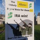 The posters have been erected at a number of locations in Bangor
