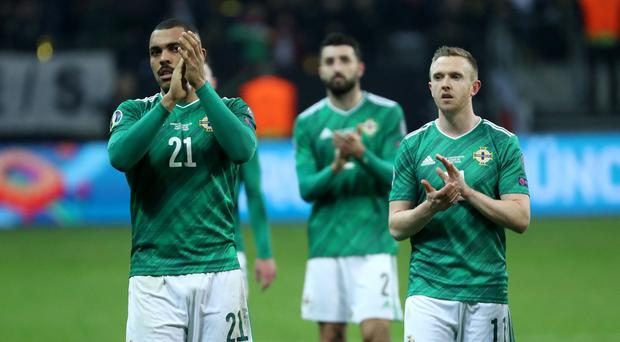 Northern Ireland will have a keen eye on Saturday's Euro 2020 draw but they already know they will face Spain in the group stage if they come through the play-offs.