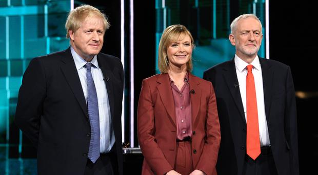 First debate between Boris Johnson and Jeremy Corbyn watched by more than six million (ITV/PA)