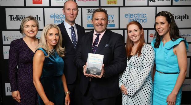 Belfast Telegraph Property Awards 15 November, Crowne Plaza: Property Deal of the Year - Lotus Property Group