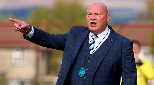 Old foes: David Jeffrey (pictured) looking for revenge after Linfield's Joel Cooper scored against Ballymena earlier this season