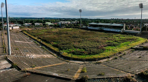 Sorry sight: Casement Park as it is now