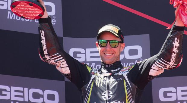 Snubbed: Jonathan Rea's fifth Superbike world title made no impression on the BBC judges