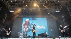 Snow Patrol performs during the third day of Lollapalooza Buenos Aires 2019 in Buenos Aires, Argentina. (Photo by Santiago Bluguermann/Getty Images)