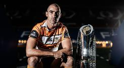 Going strong: Cheetahs' Ruan Pienaar at yesterday's PRO14 event in Cardiff