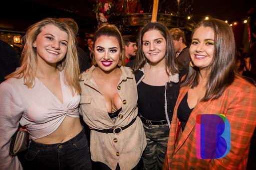 26 Nov 2019 People out at Filthy McNastys for Craics 90 Tuesdays. Liam McBurney/RAZORPIX