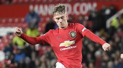 Ethan Galbraith has broken into the Manchester United senior squad for the first time.