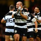 Ulster and Ireland legend Rory Best after playing his final ever professional game for the Barbarians against Wales (Dan Mullan/Getty Images)