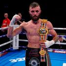 Anthony Cacace is the new British super-featherweight champion