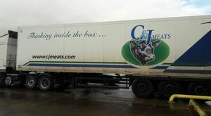 The lorry was recovered in Dundalk.