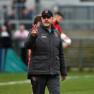 Ulster head coach Dan McFarland pictured before their game against Harlequins at Kingspan Stadium (Charles McQuillan/Getty Images)