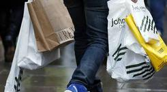 A 6.6% drop in footfall recorded in November is