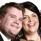 James Corden and Ruth Jones (Yui Mok/PA)