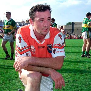 Look back: a dejected John Donaldson of Armagh after their 2000 All-Ireland semi-final loss to Kerry