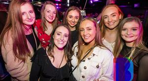 10 Dec 2019 People out at Filthy McNastys for Craics 90 Tuesdays. Liam McBurney/RAZORPIX