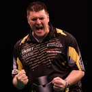 World contender: Daryl Gurney goes for world title glory before supporting Northern Ireland