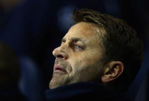 LONDON, ENGLAND - DECEMBER 18:  Tim Sherwood interim manager of Tottenham Hotspur looks on prior to the Capital One Cup Quarter-Final match between Tottenham Hotspur and West Ham United at White Hart Lane on December 18, 2013 in London, England.  (Photo by Paul Gilham/Getty Images)