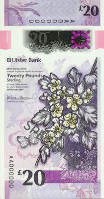 The new Ulster Bank notes
