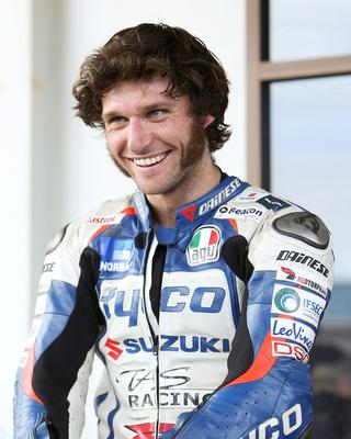 Record target: Guy Martin.  Photo: Hagen Hopkins/Getty Images