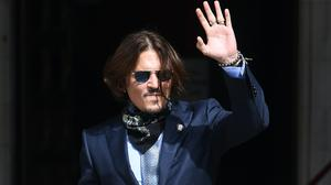 Actor Johnny Depp at the High Court in London (Kirsty O'Connor/PA)