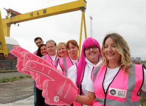 Look out for the Giro Big Start Volunteers, over 1,000 have been recruited by Volunteer Now to marshall the route for over 140,000 spectators during Giro d'Italia 2014