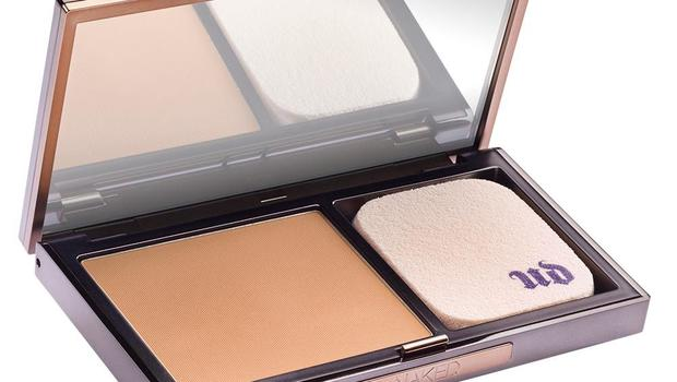 Urban Decay Ultra Definition Powder Foundation, £26.00  This new product from Urban Decay works on skin both wet and dry and blends well to avoid the cakey-look.  Www.urbandecay.co.uk