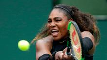 No favours: Serena Williams has slipped down rankings during spell out of game