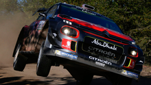 Early exit: Despite a strong start, Kris Meeke's bid for a second Rally Argentina win was shortlived