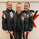 Abbie, Cassie and Evie Cassells