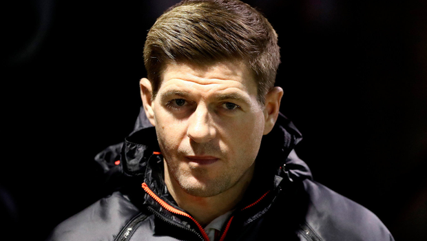 Top choice: Steven Gerrard is wanted by Ibrox chiefs to take over the Rangers job this summer