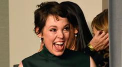 Olivia Colman, winner of Best Actress for